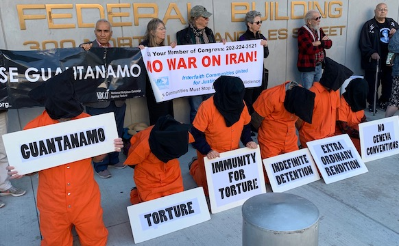 Close Guantanamo 2020 vigil