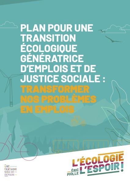 Télécharger le plan Transformer nos Problèmes en Emplois