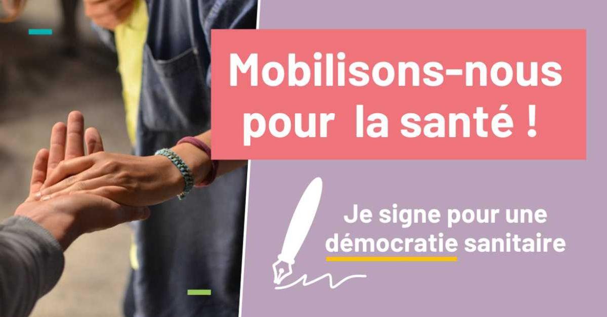 Mobilisons nous pour démocratiser la santé !