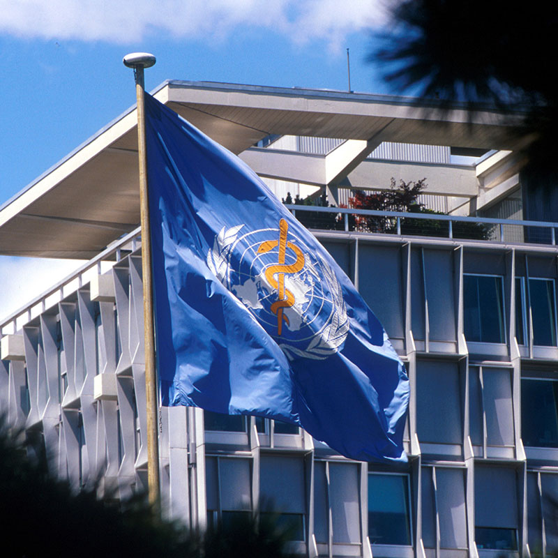 1985 WHO HQ Building Geneva