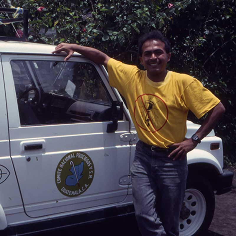 Oncocercosis IEF jeep in Yepocapa in the early nineties