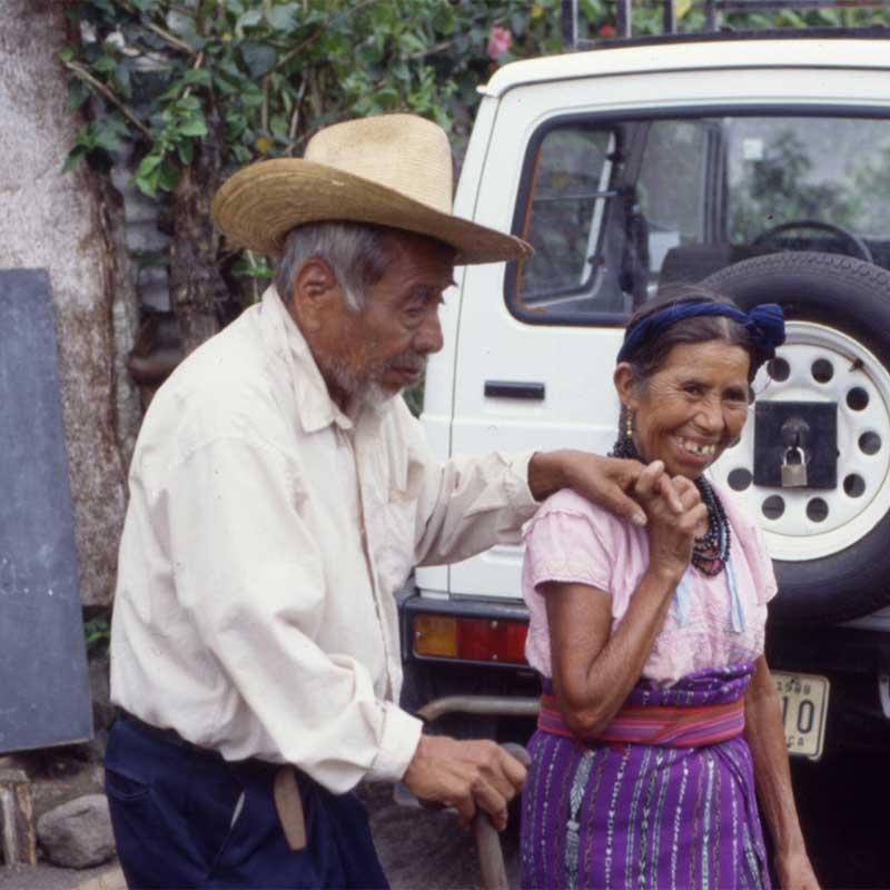 Oncocercosis elderly couple in Yepocapa