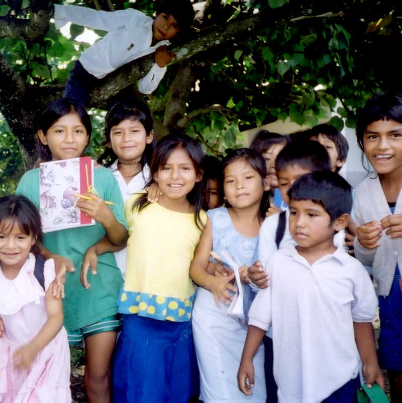 Vit A project in Ichilo Province in Bolivia 1999