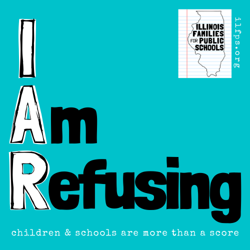 I Am Refusing sticker