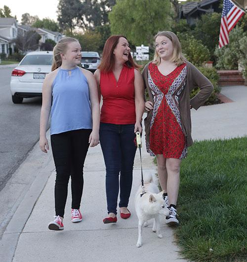Rachel with Daughters