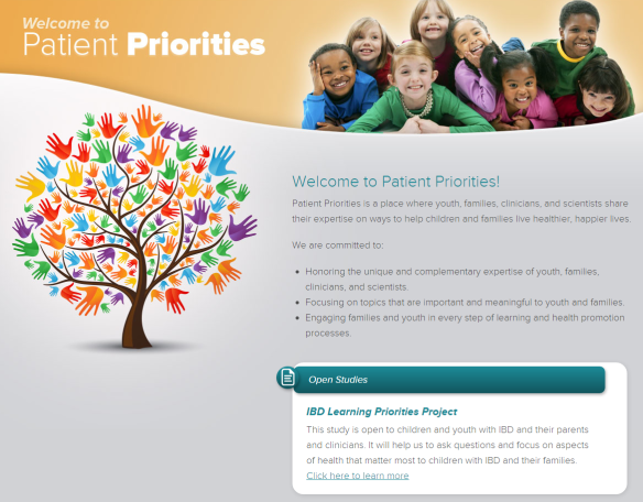 Patient Priorities IBD Learning Priorities Project