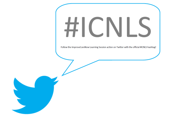 Follow the ImproveCareNow Learning Session on Twitter with the official hastag #ICNLS