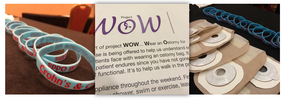Wear an Ostomy for the Weekend Supplies at ImproveCareNow Community Conference