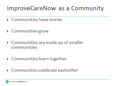 ImproveCareNow is a community