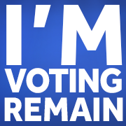 VOTING REMAIN? SHOW YOUR SUPPORT - Britain Stronger In Europe