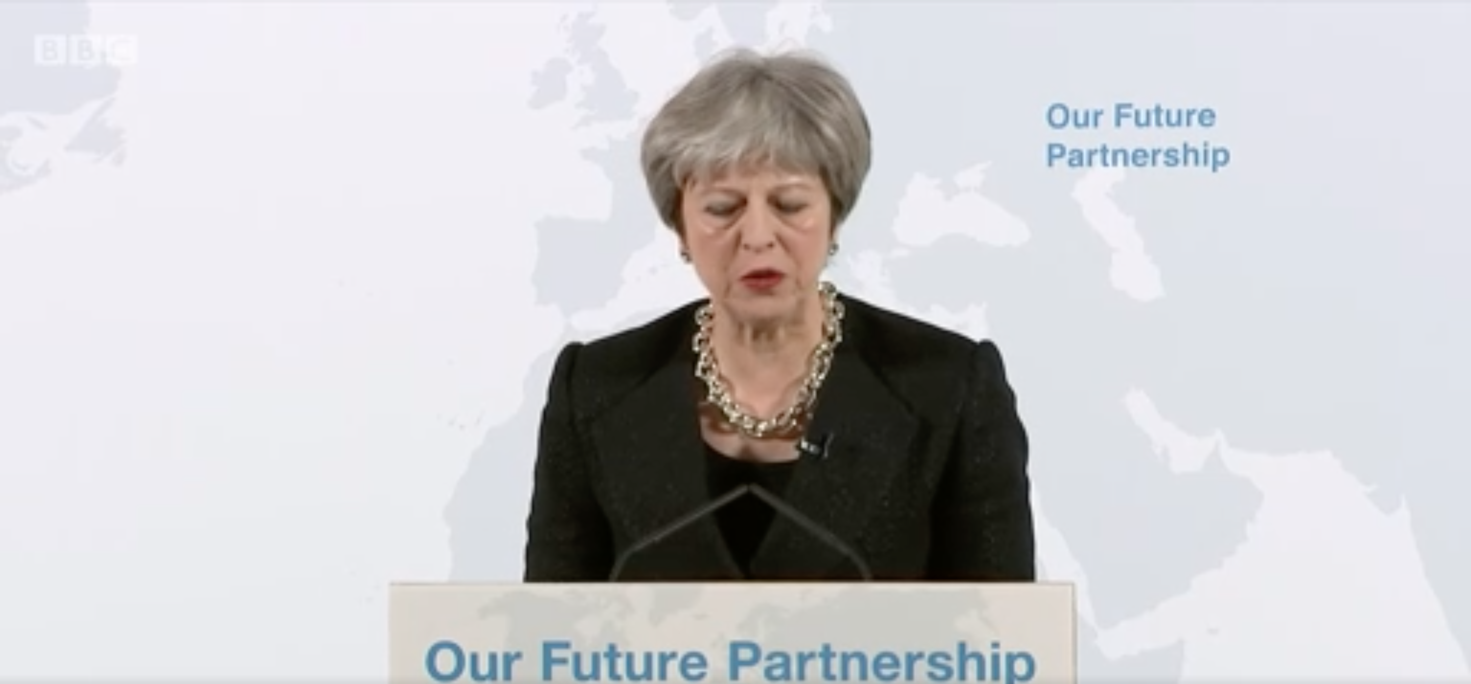 Background Briefing: Theresa May's Mansion House speech