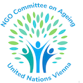 Gertraud Daye at NGO Committee on Ageing UN Vienna