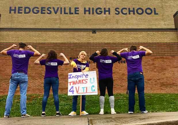 Hedgesville High School Inspire2Vote Club