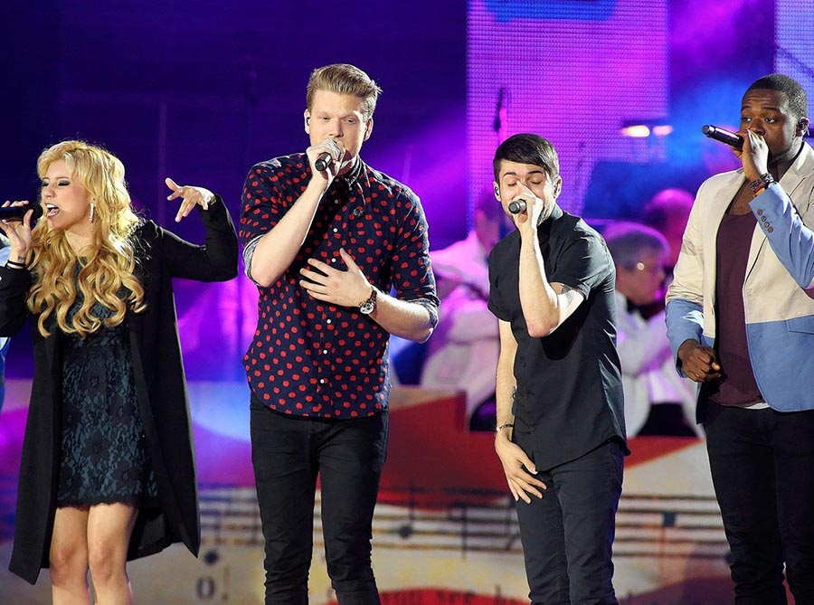 pentatonix releases new breathtaking christmas song