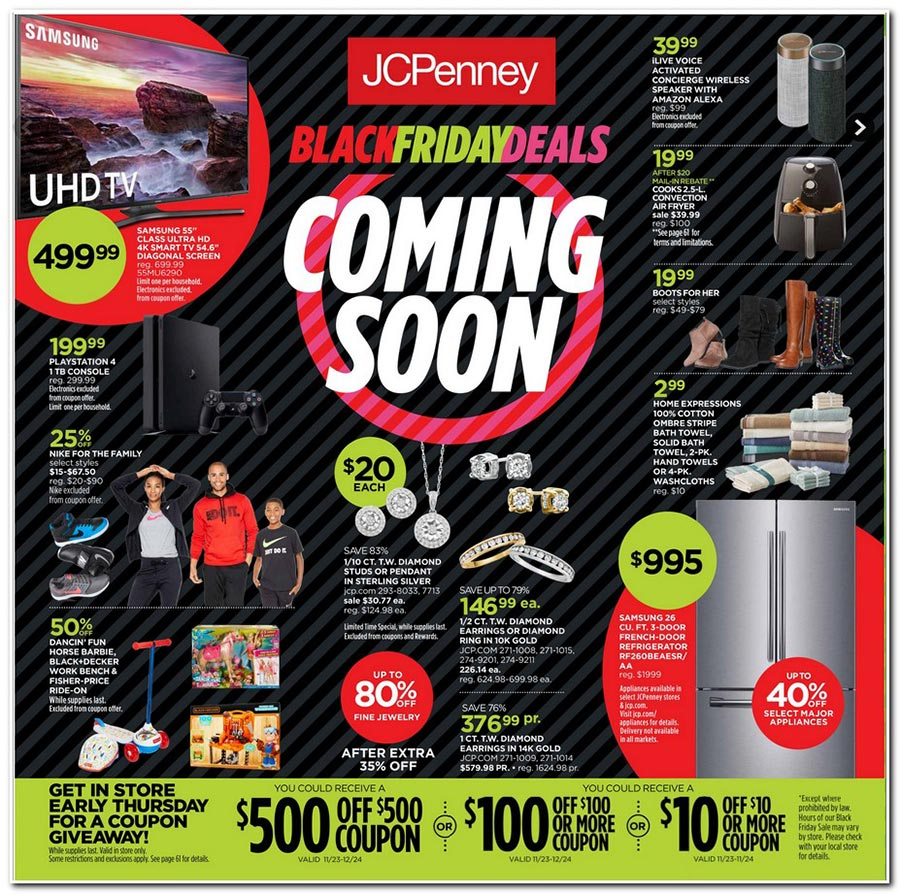 df2362774d4f Preview JCPenney s Black Friday Deals - They Start November 9th