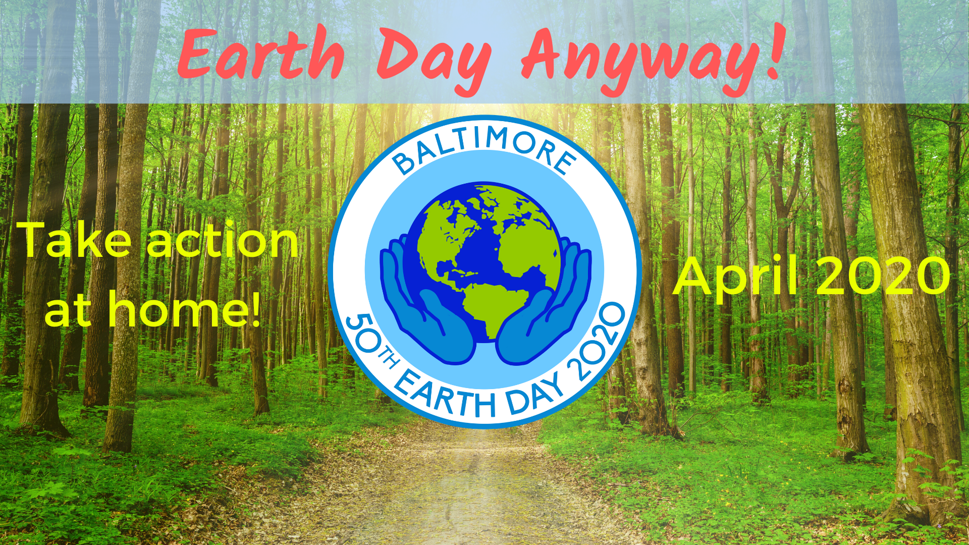 Earth Day Anyway Logo