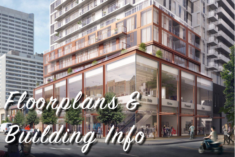 Whitehaus Condos Floorpans and Building Info