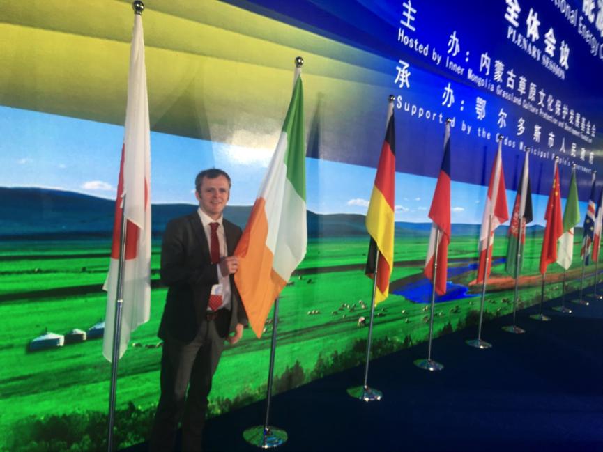 Keynote Speaker at The World Energy Summit in 2018 in Inner Mongolia in China, where Raphael spoke alongside 4 Nobel Prize Winners