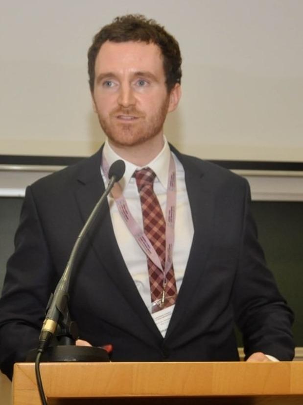 Irish Lawyer Comán Kenny