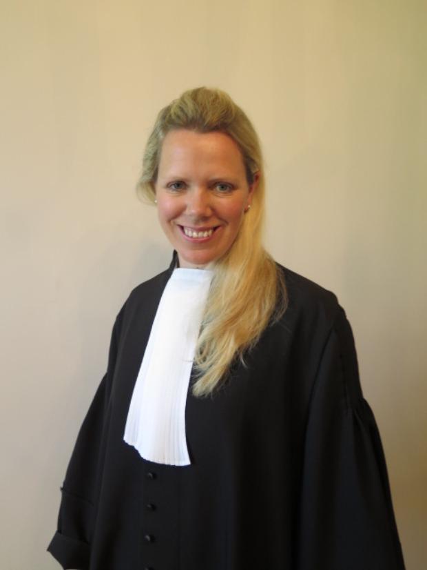 Lawyer Alison de Bruir