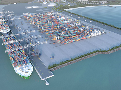 Victoria International Container Terminal