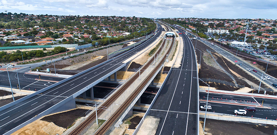 Mitchell Freeway Extension - Burns Beach Road to Hester Avenue