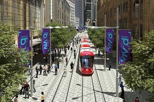 Sydney CBD and South East Light Rail