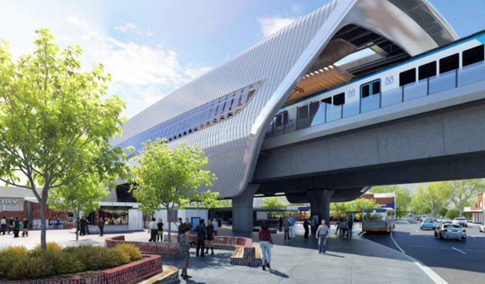 Level Crossing Removal Project - Package 4 - Caulfield to Dandenong