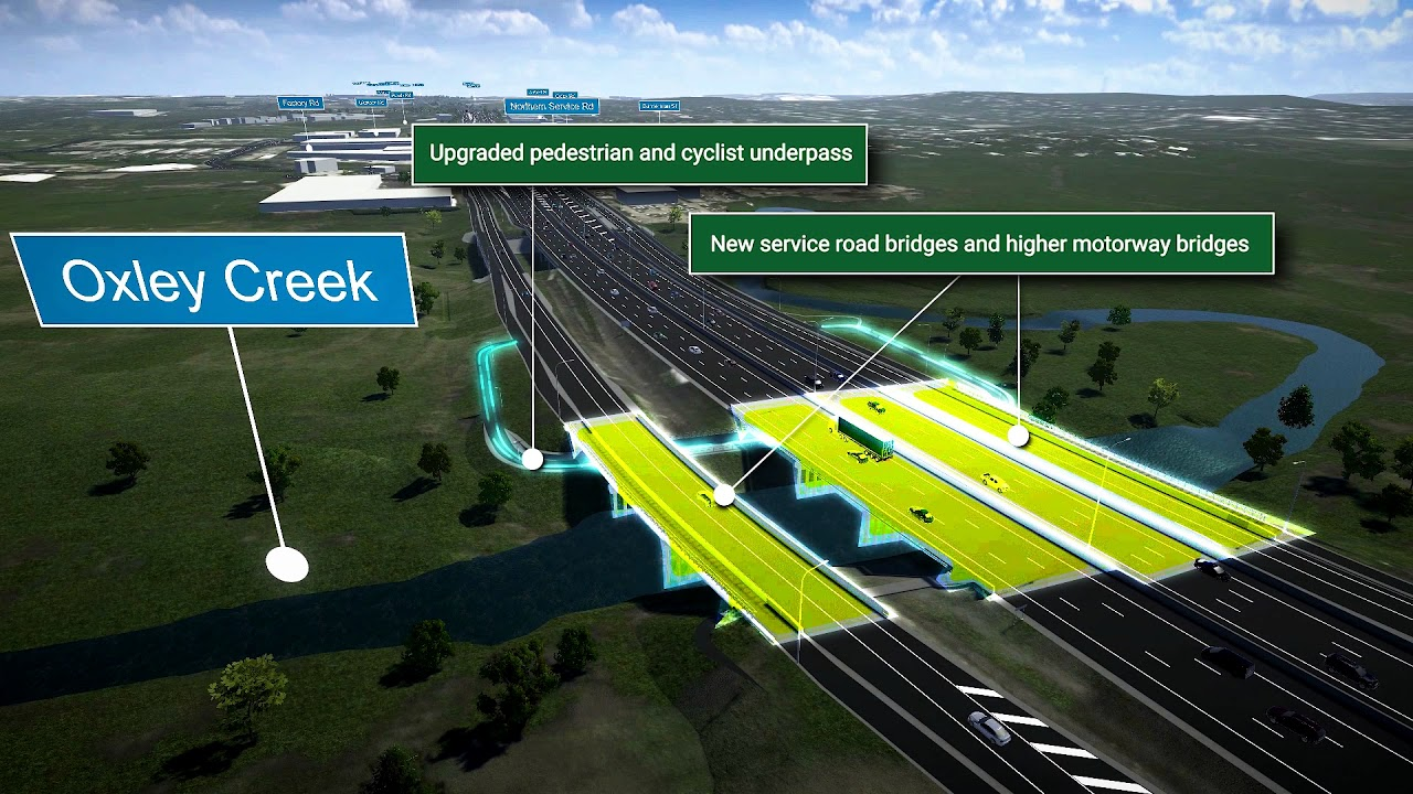 Ipswich Motorway Upgrade (Rocklea to Darra) Stage 1, Package 1