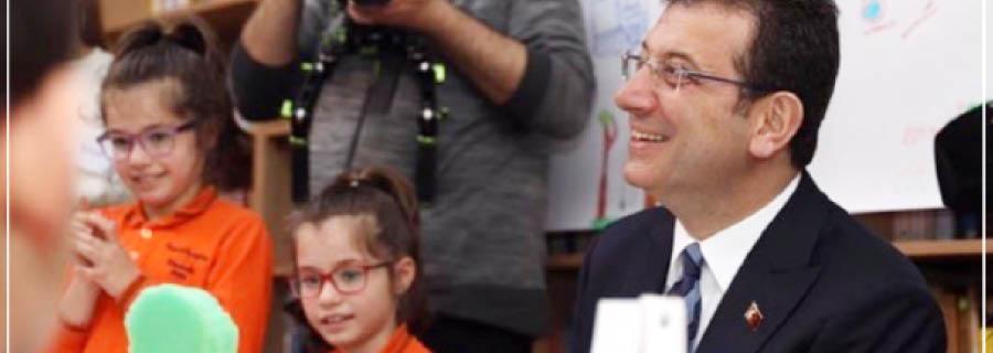 İstanbul'un Çocukları Parklarını Tasarlıyor
