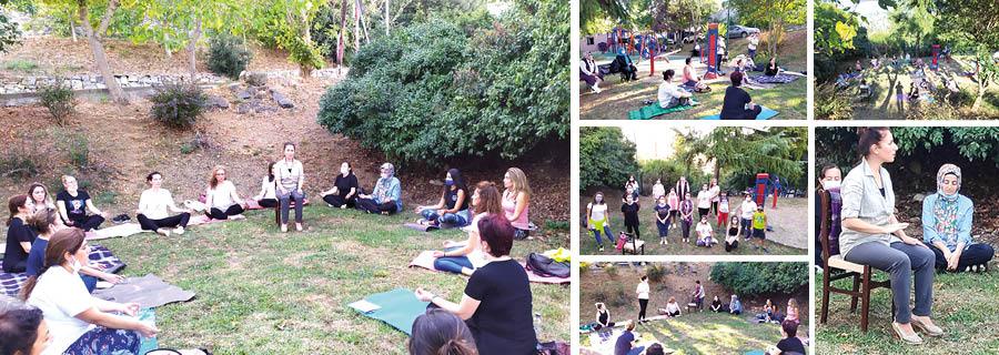 'Kadınlar İçin Masal ve Nefes Terapisi' etkinliğimizi gerçekleştirdik