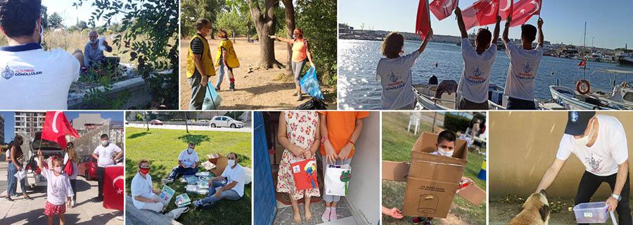 Yaz aylarında pandemiye rağmen gönüllülerimiz çalışmalarına devam etti!