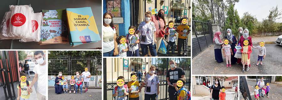 Beykoz'da pandemiye yönelik bilinçlendirme etkinliği