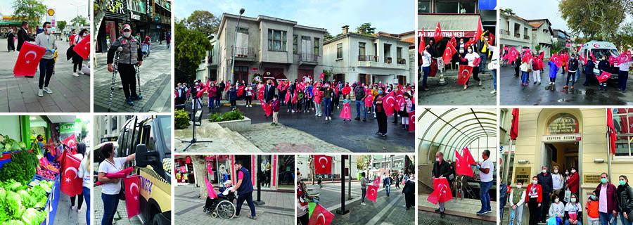 Cumhuriyet Bayramı'nda İstanbul'u Bayraklarla Donattık