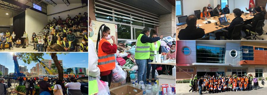 İstanbul Gönüllüleri deprem sonrası  STK Afet Platformu ile İzmir'in yanında!