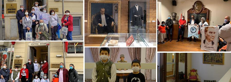29 Ekim'de Atatürk Müzesi'ni Ziyaret Ettik