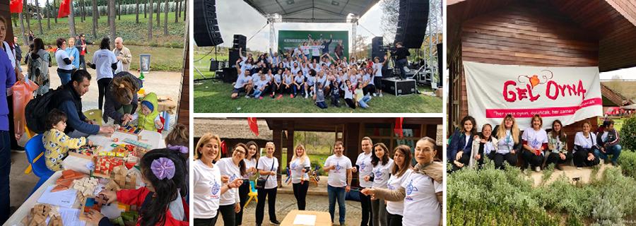 Kent Orman Açılışı'nda Çocuklara Özel Etkinlikler Düzenledik