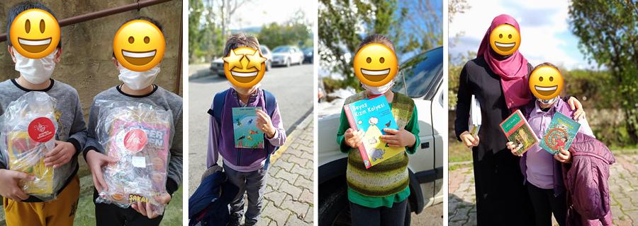 Çocuklarımızı Kitaplarla Buluşturduk