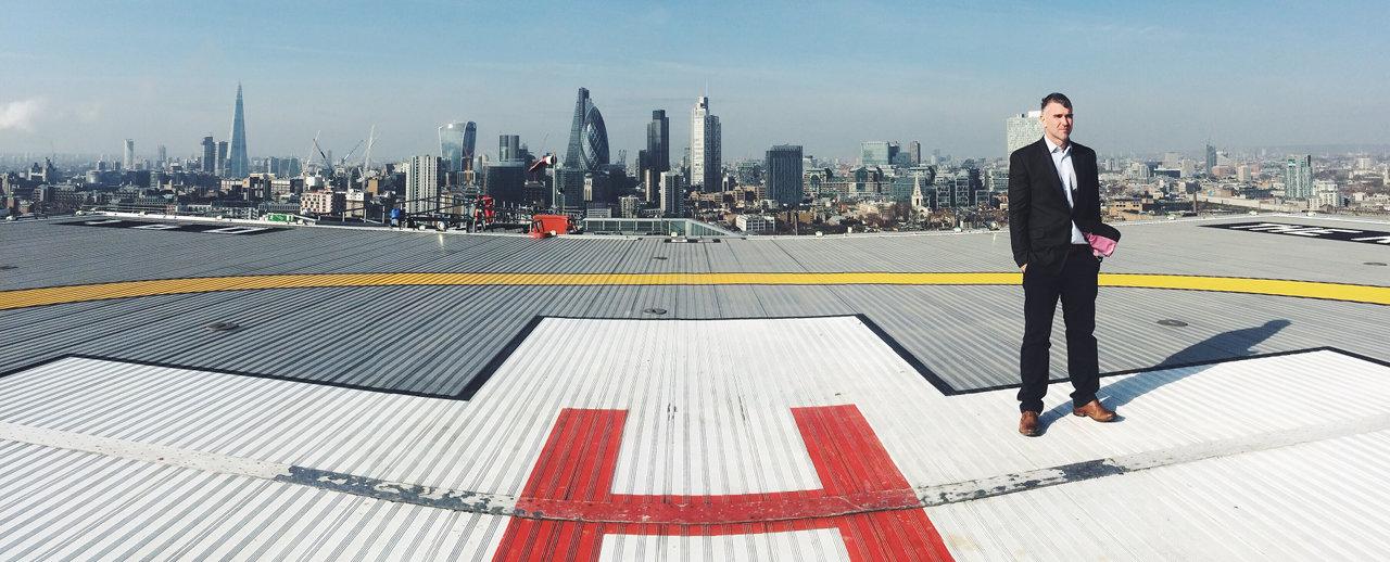 Ivan Massow at London's Air Ambulence