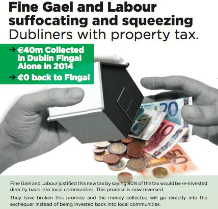 Jack Chambers Property Tax Castleknock Dublin West Blanchardstown