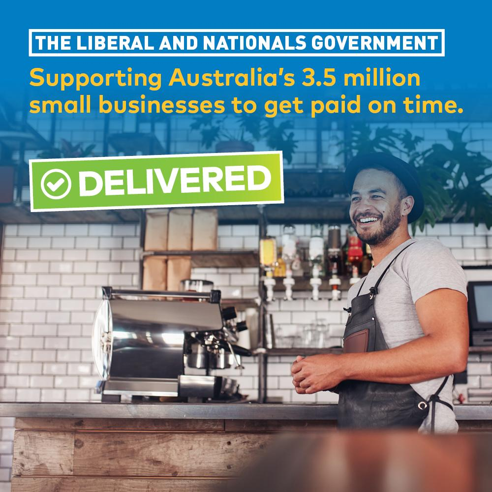 New Scheme Helps Small Businesses in Sturt Get Paid on Time