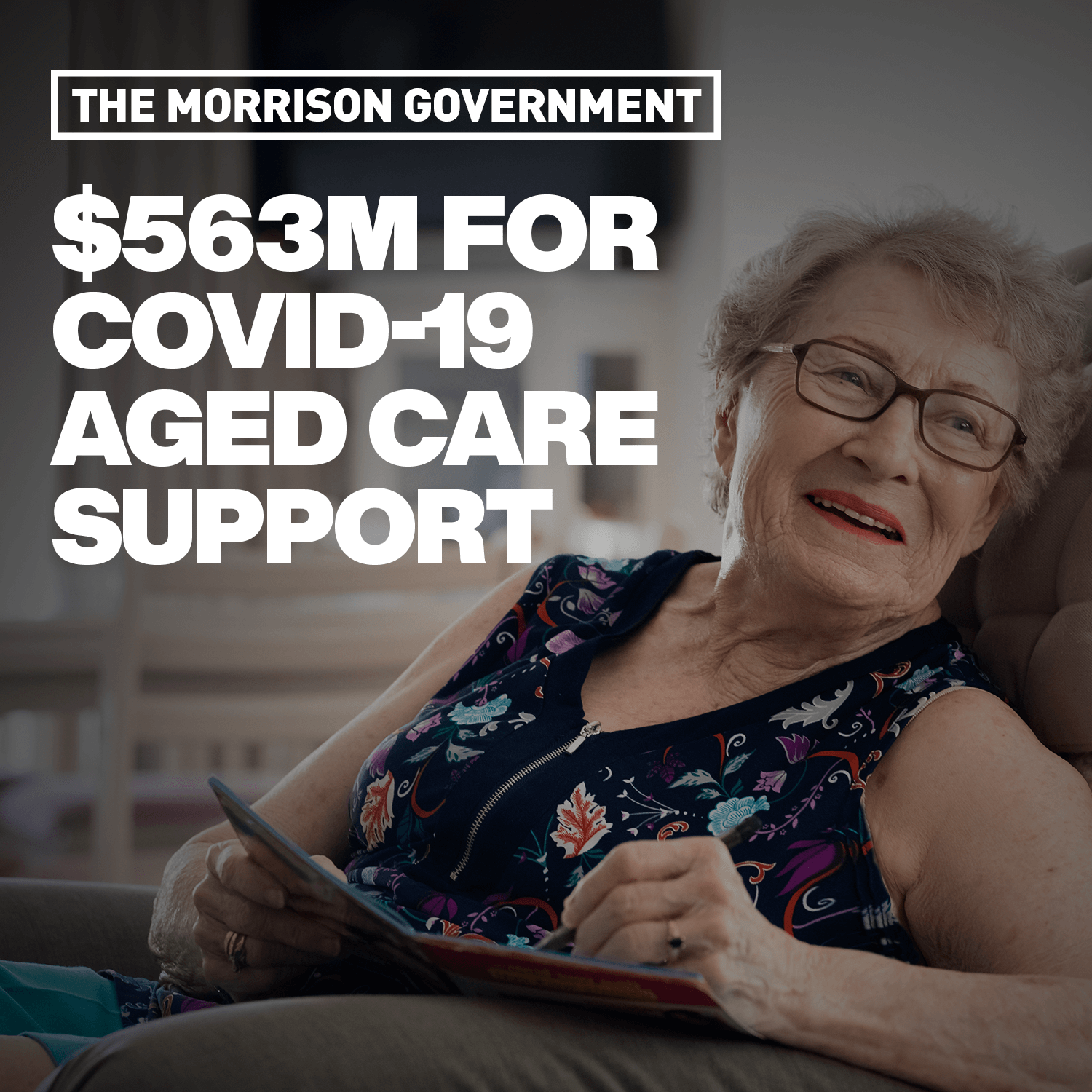 Additional Funding To Reinforce Australia's Aged Care Sector