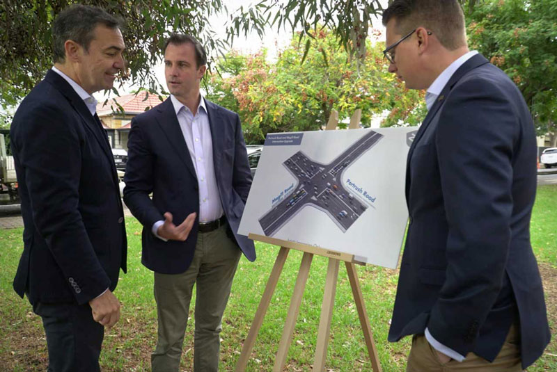 Magill Road and Portrush Road Intersection Upgrade