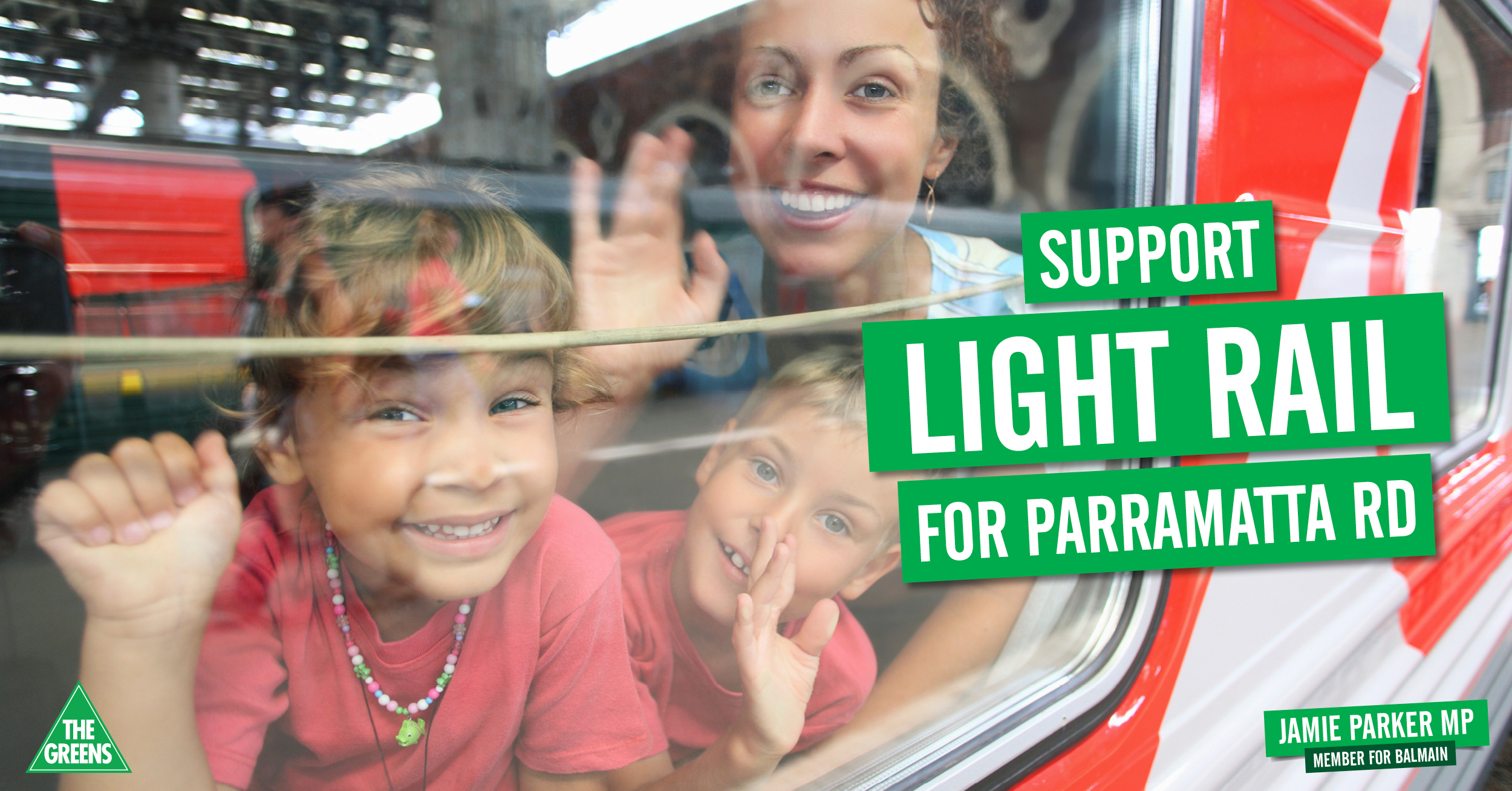 Join our campaign to extend light rail