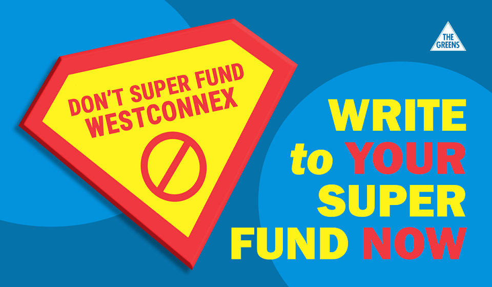 Don't Superfund WestConnex - Jamie Parker MP