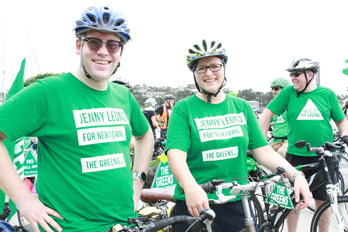 Inner West Cycling Roundtable - Jamie Parker MP