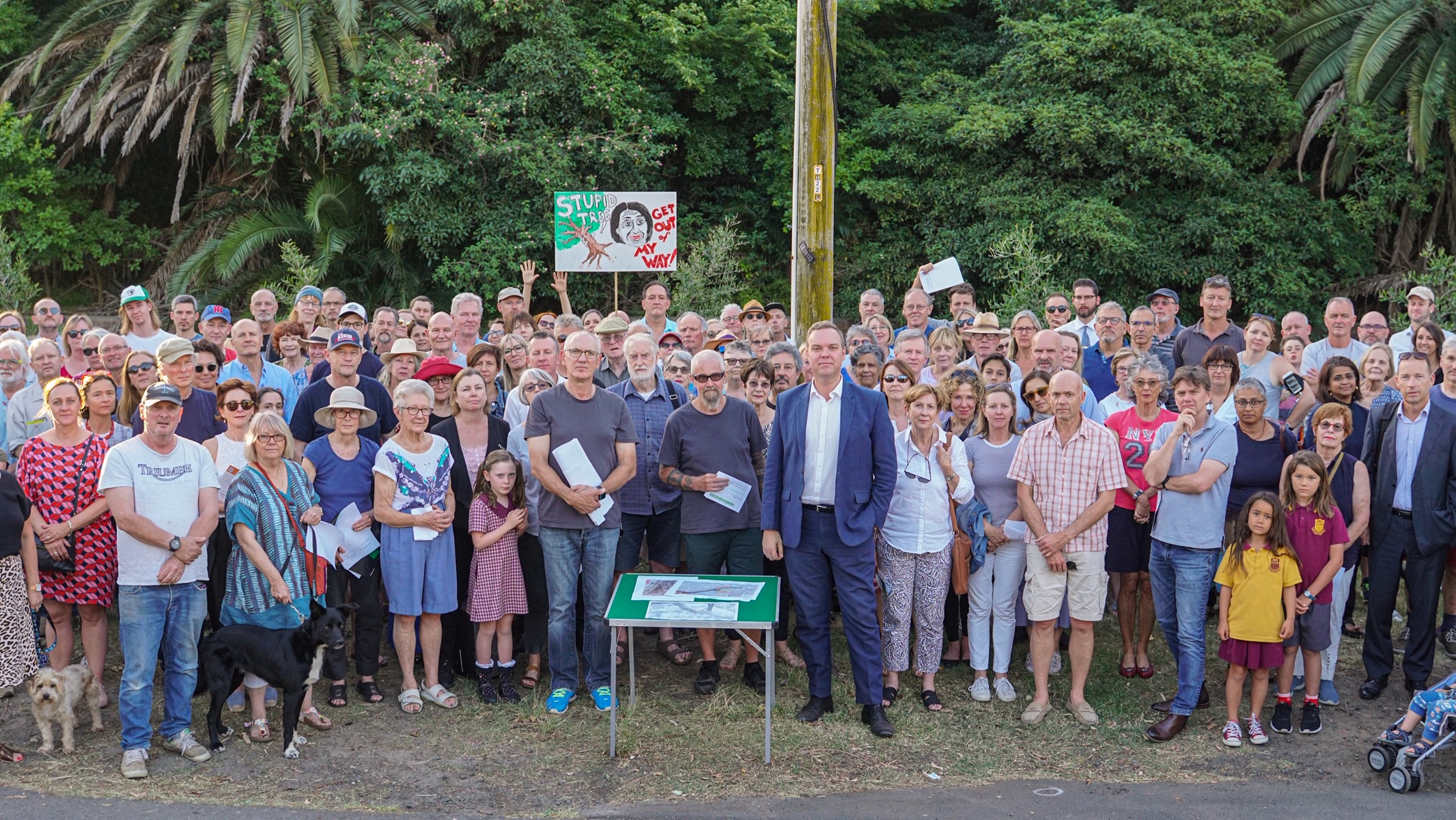 Media Release: Residents demand government and Council back away from tree destruction - Jamie Parker MP