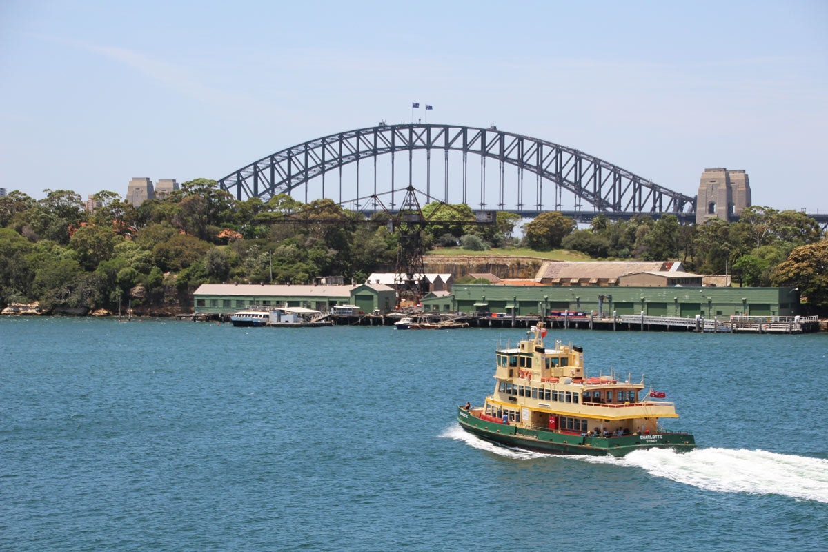 Better ferry services for Balmain