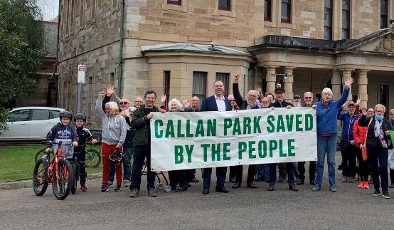 Online Callan Park Public Meeting