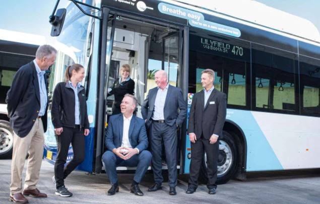 Inner west electric buses save 292,000kg of CO2 - Jamie Parker MP